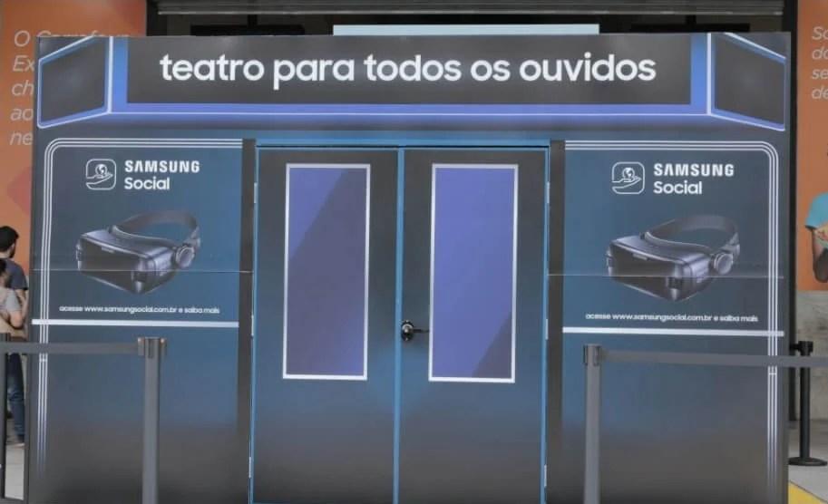 Samsung traz nova temporada do projeto Teatro Para Todos os Ouvidos 3