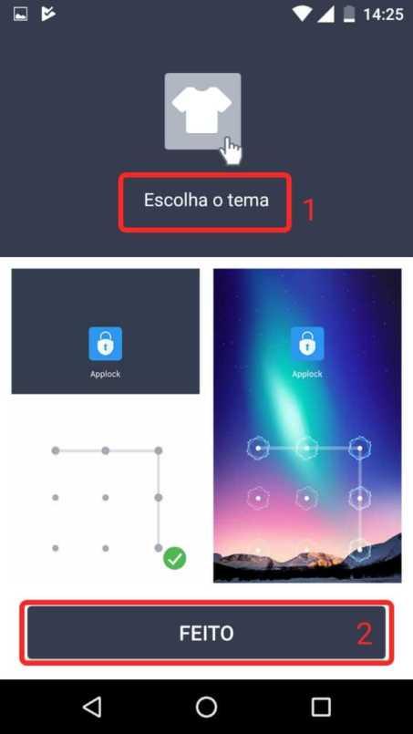Como usar um AppLock para por senha em seus aplicativos e tirar selfies de invasores 8