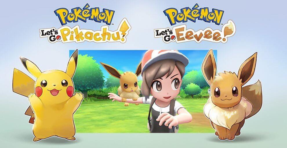 Pokémon Let's Go! é anunciado para o Nintendo Switch 3