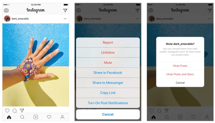 Instagram agora permitirá que você mute seus amigos 4