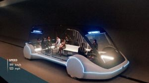 Viagem no transporte público high-tech de Elon Musk custará 1 dólar