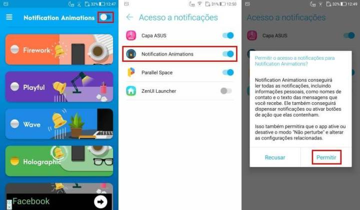 tutorial 2 1 720x421 - Como usar o Notification Animations para ter efeitos animados no Android