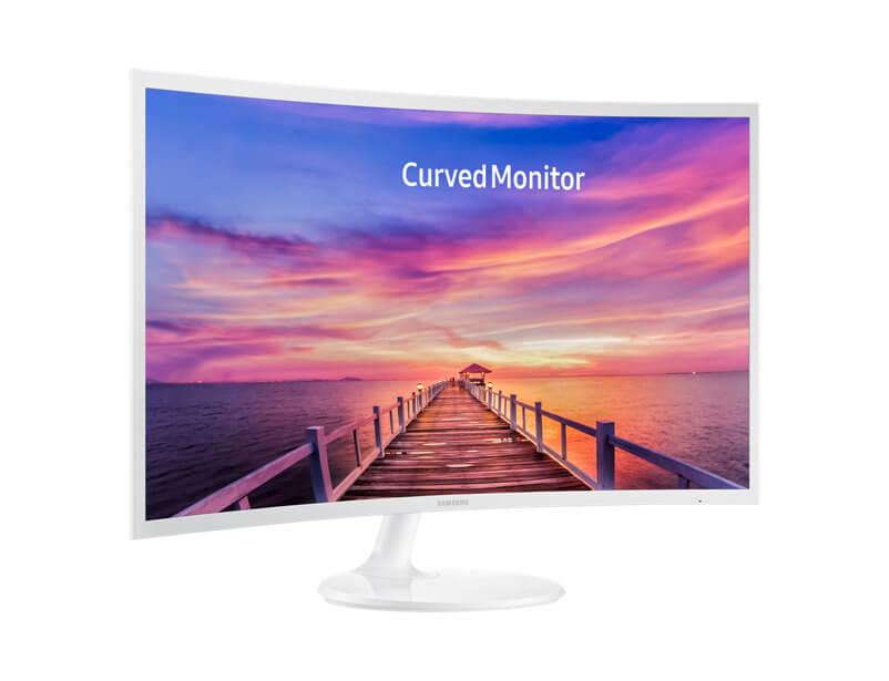Review: monitor curvo Samsung C32F391 mescla imersão e elegância 11