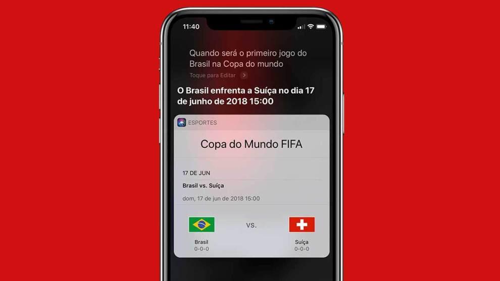 26 2 - Apple coloca a Siri no clima da Copa do Mundo com conteúdo especial