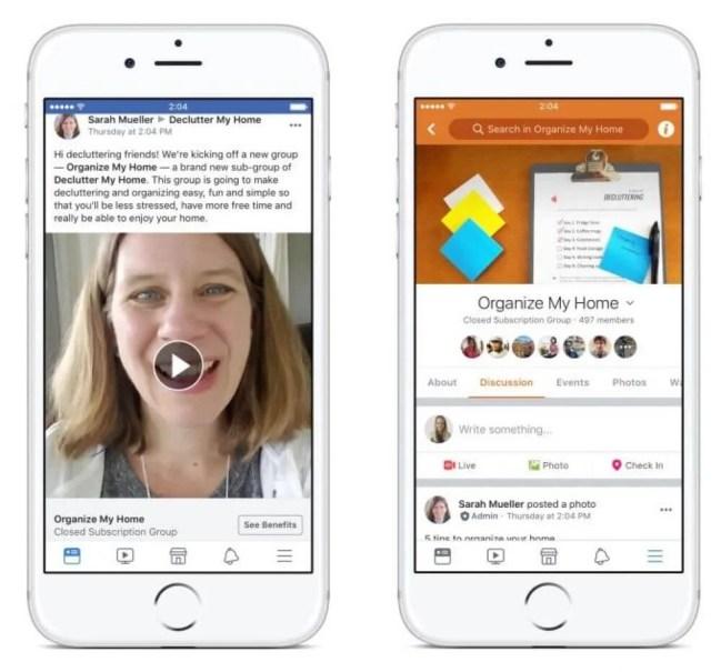 Facebook inicia testes para cobrar por conteúdo em grupos 6