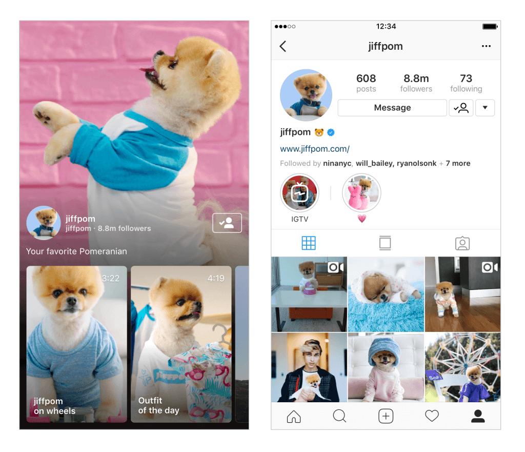 3 ChannelProfile 2UP EN - Instagram anuncia IGTV, o novo app de TV voltado para criadores de conteúdo