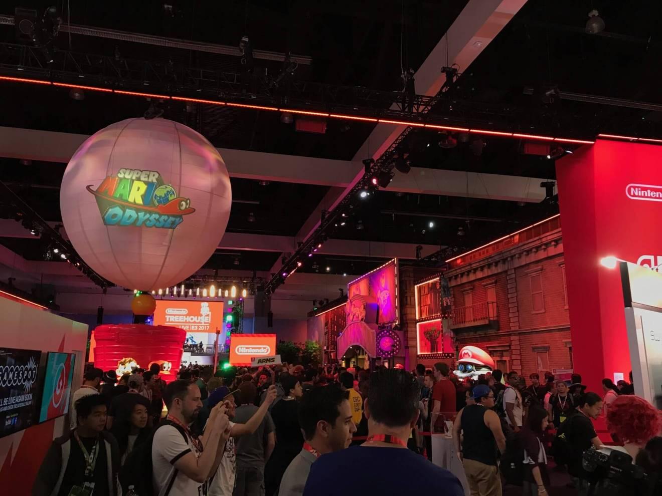 E3 2017 NintendoBooth SuperMarioOdyssey1 - O que esperar da E3 2018