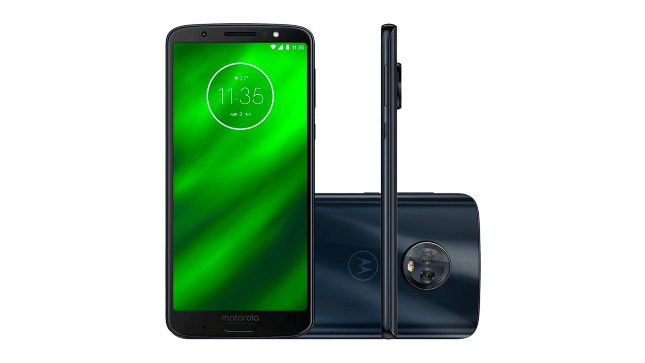 Motorola Moto G6 Plus Showmetech - Melhores smartphones intermediários de 2018