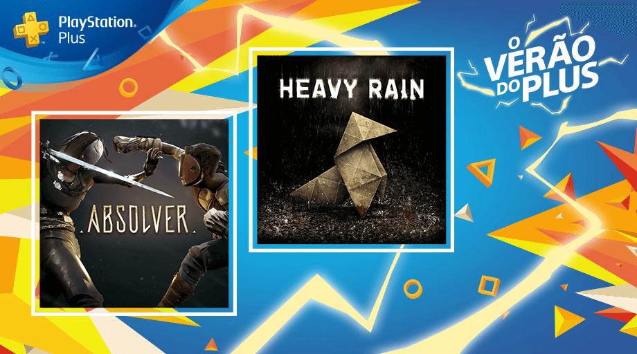 PS Plus de Julho terá Heavy Rain, Absolver e muito mais 4