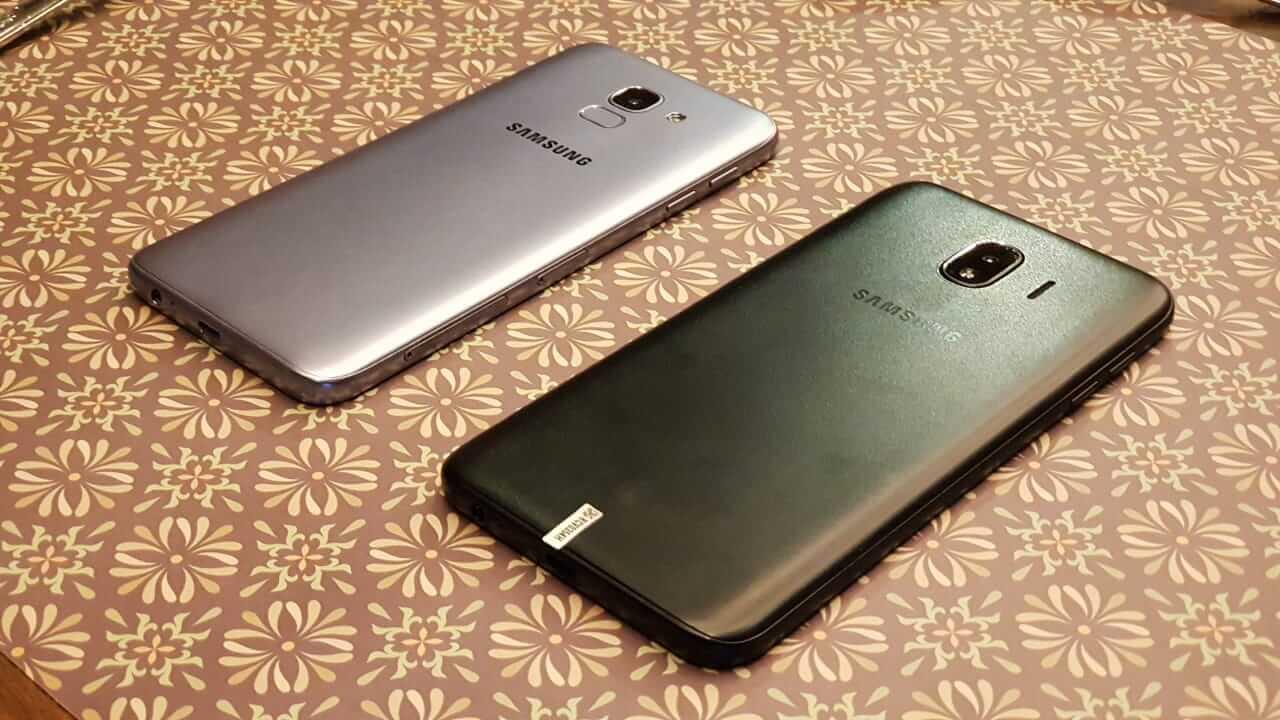 Samsung apresenta ao Brasil os novos Galaxy J6 e J4 5