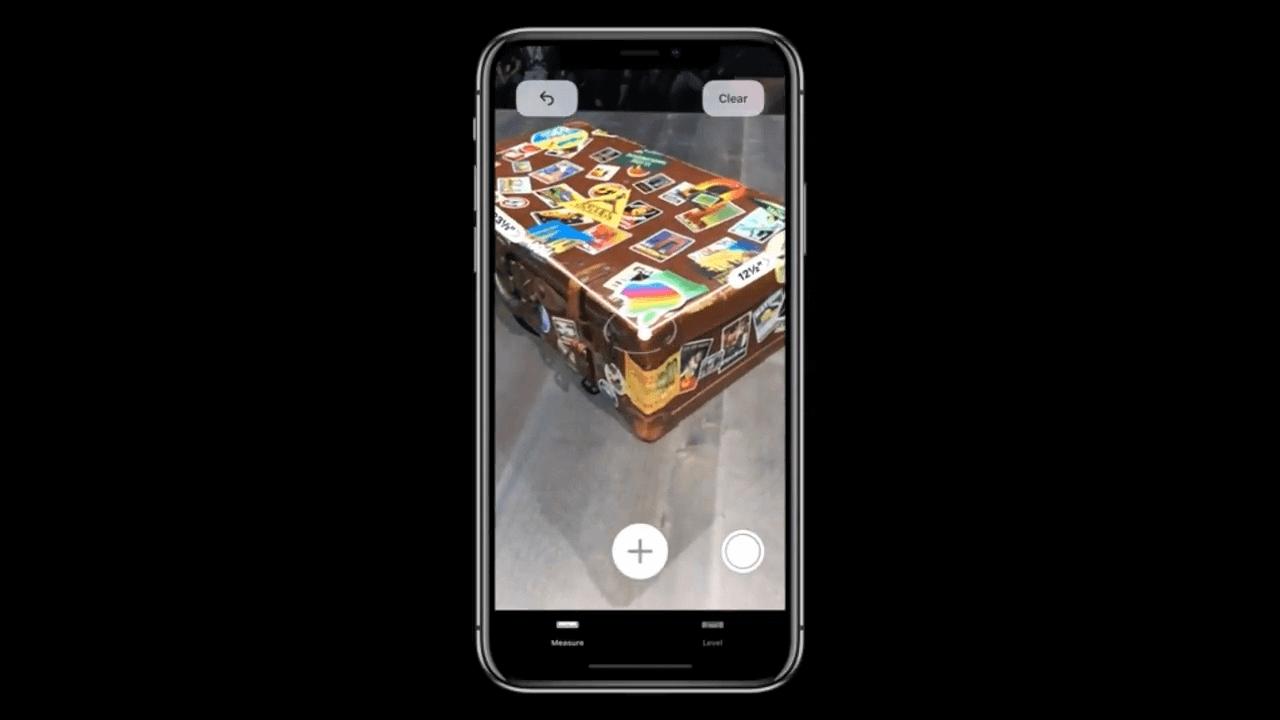 arkit medidor - WWDC18: iOS 12 chega com Realidade Aumentada compartilhada e Notificações em Grupo