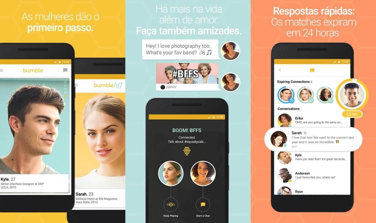 bumble - Dia dos namorados: melhores apps para casais e solteiros