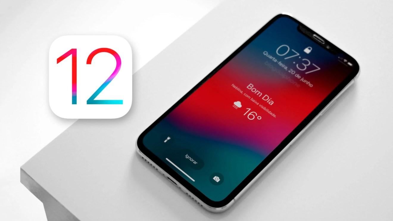 Primeiro beta público do iOS 12 é liberado pela Apple 6