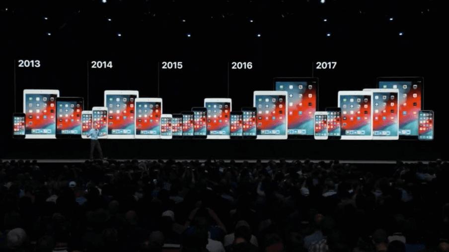 ios 12 todos dispositivos 1 - Primeiro beta público do iOS 12 é liberado pela Apple