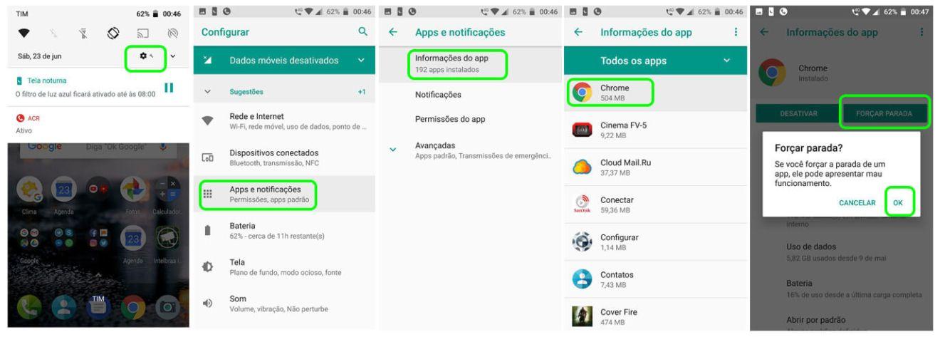 """Como remover o falso aviso dos """"quatro vírus"""" do seu Android 9"""