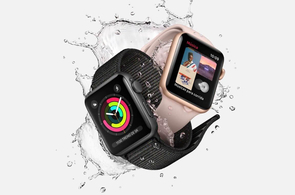 watch - Apple Watch Series 3 começa a ser vendido hoje com função celular na Claro