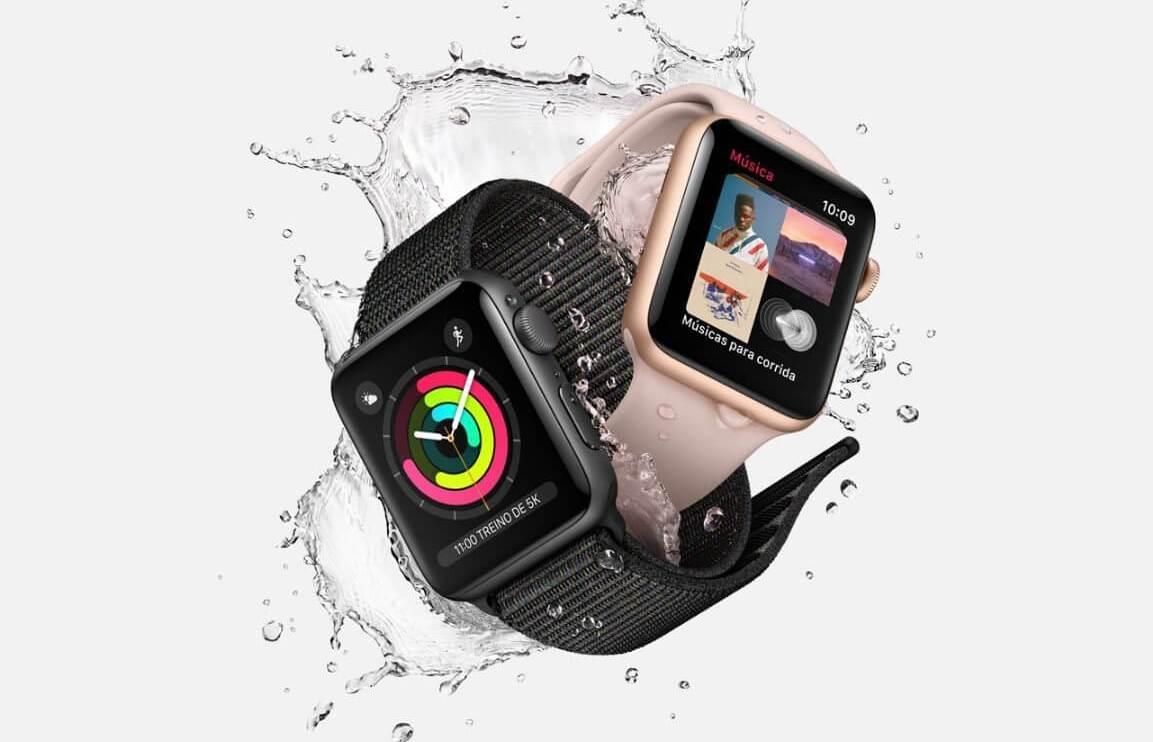 watch - Apple Watch Series 3 começa a ser vendido hoje com função celular e plano da Claro