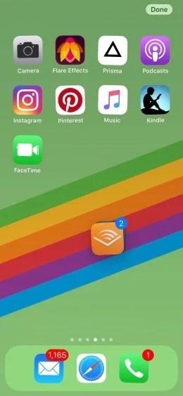 Aprenda a mover múltiplos ícones de uma vez só no iPhone 8