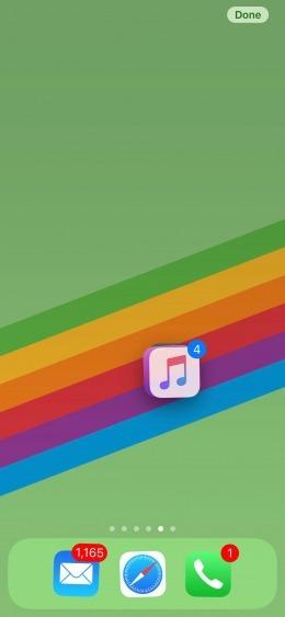 Aprenda a mover múltiplos ícones de uma vez só no iPhone 9