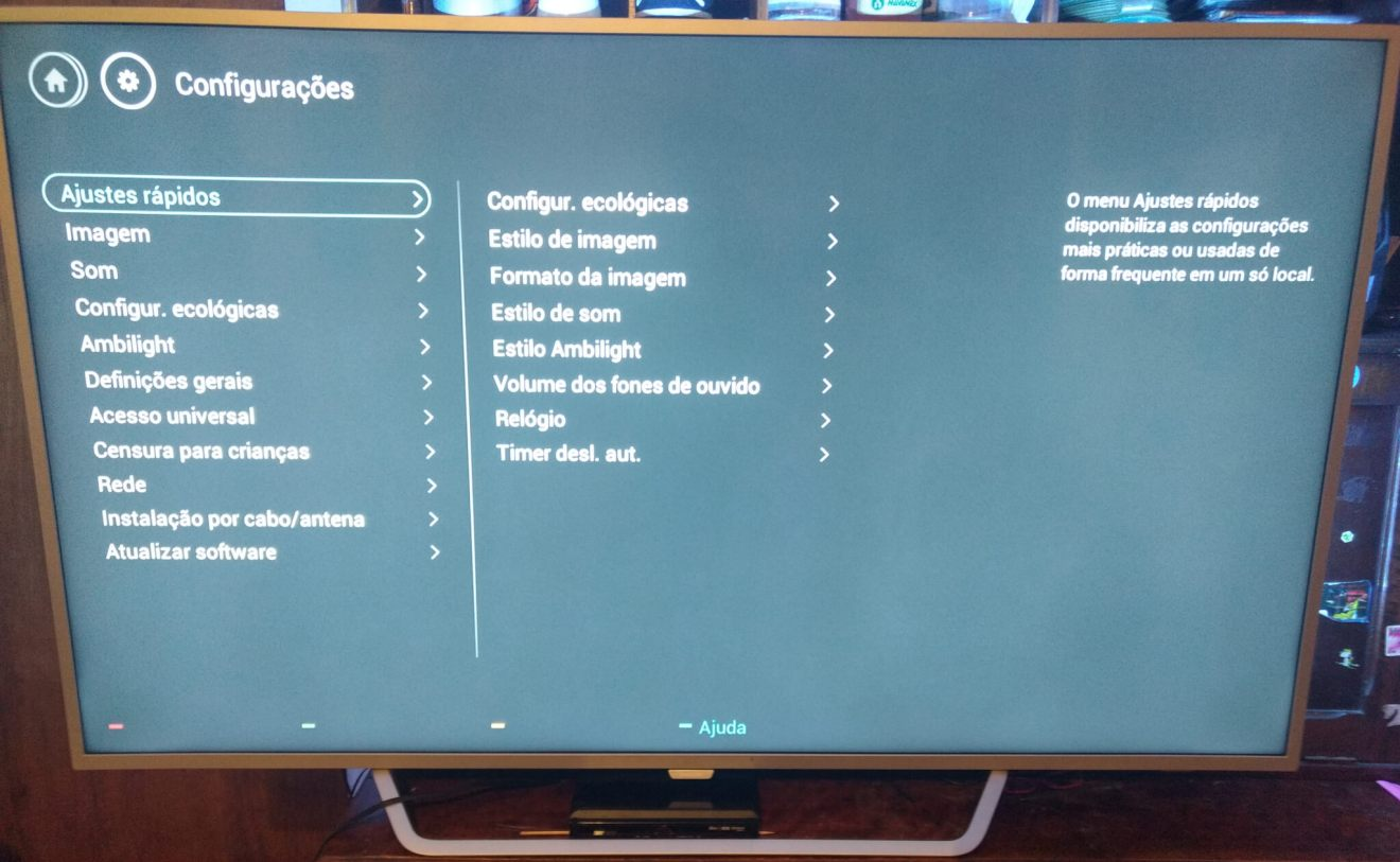 Review: TV LED Ambilight Philips 65PUG6412/78 entrega experiência impressionante 18