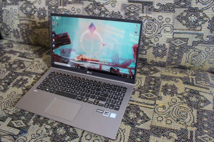IMG 7659 720x480 - Review: Notebook LG Gram Titânio é potência e elegância com extrema leveza