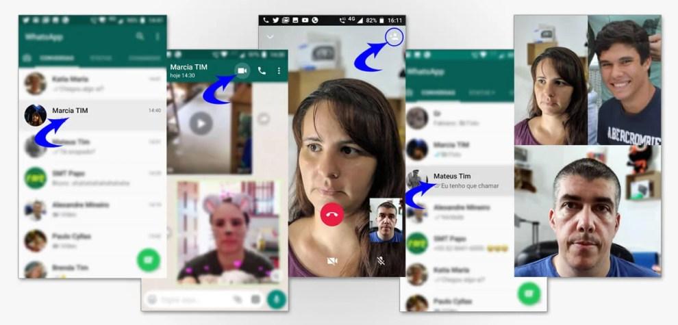Tutorial: Faça chamadas de vídeo e voz em grupo no Whatsapp 6