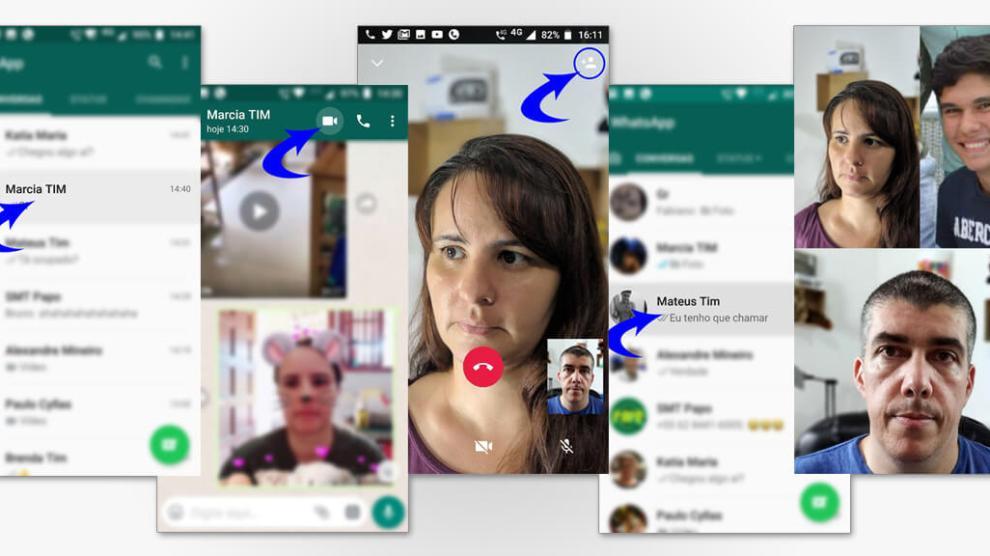 Tutorial: Faça chamadas de vídeo e voz em grupo no Whatsapp 4