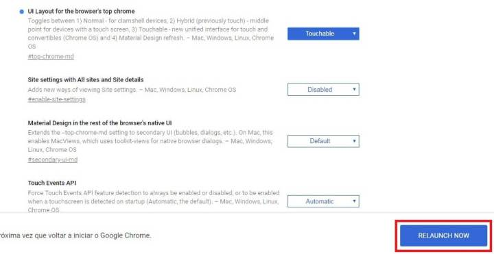 Como ativar a nova Interface do Google Chrome 7