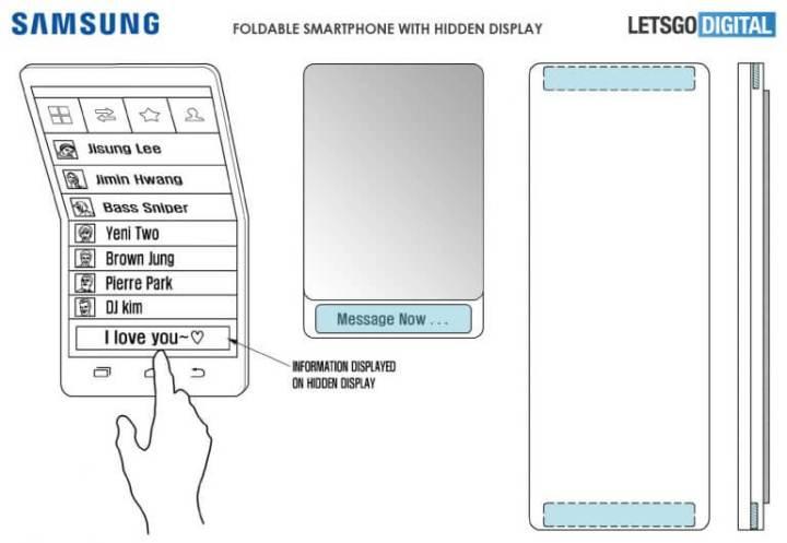Patente mostra como será o Galaxy X, smartphone dobrável da Samsung 6