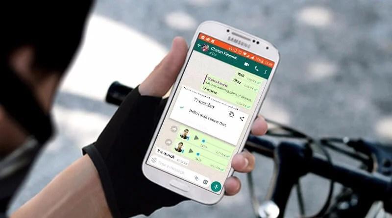 WhatsApp: saiba como converter as mensagens de áudio para texto 5