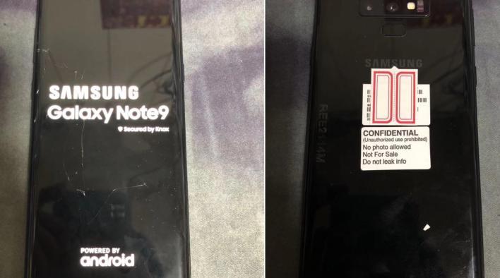 leaks note 9 - Galaxy Odyssey: Samsung pode lançar um smartphone gamer