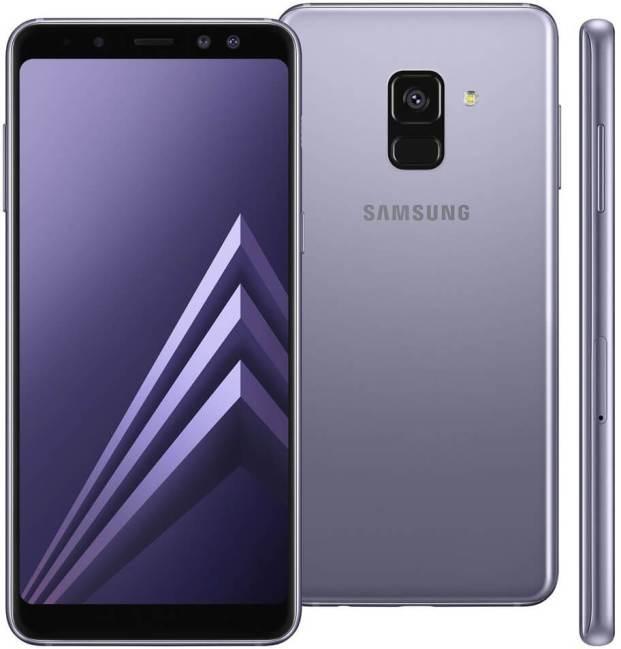 smartphone samsung galaxy a8 plus ametista com 64gb dual chip display infinito de 6 android 7 1 camera 16mp protecao ip68 octa core e ram de 4g 12138108 - Samsung Galaxy S10+ chegará com cinco câmeras, afirma rumor