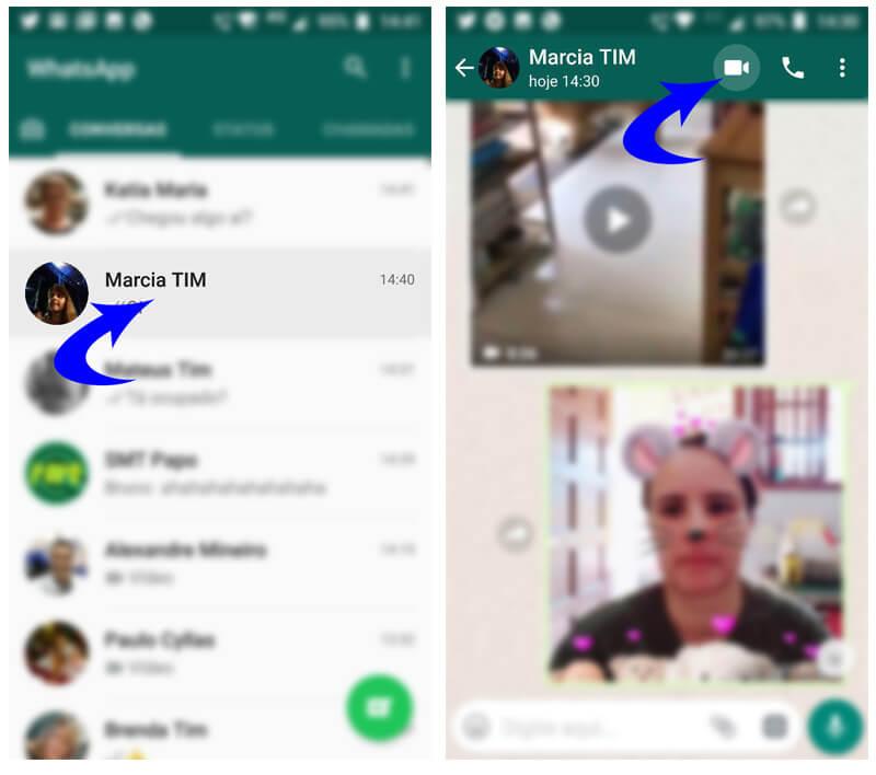 Tutorial: Faça chamadas de vídeo e voz em grupo no Whatsapp 9