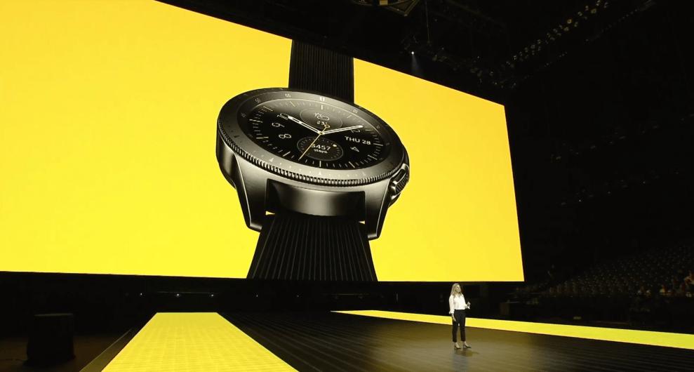 12 - Galaxy Watch promete mais de 80 horas de autonomia