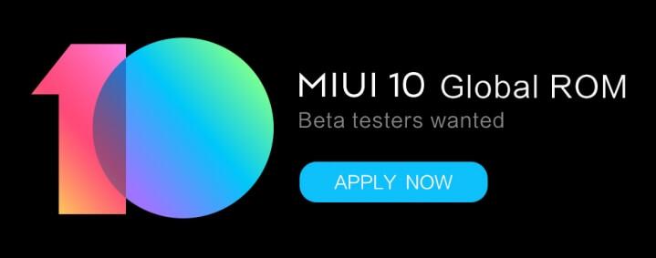 Miui 10 beta teste