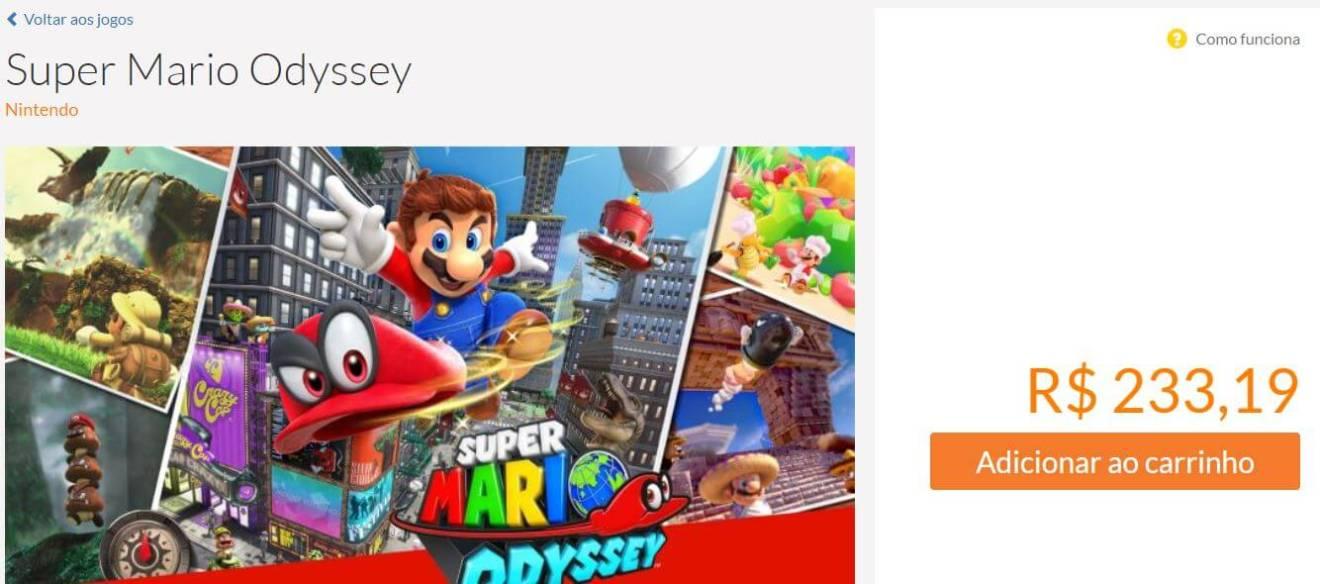093dcd8a2e6bba Aprenda a fazer compras pela loja online da Nintendo no Brasil
