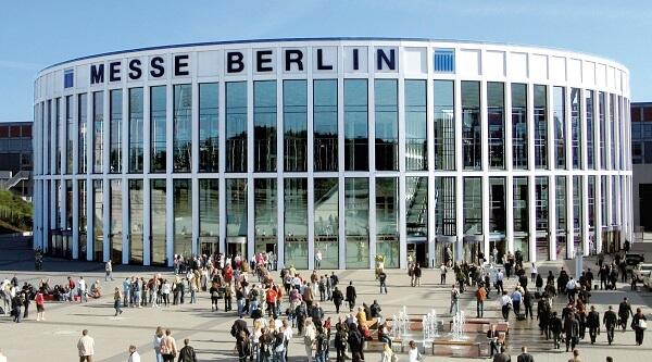 Imagem do Messe Berlin, local onde acontecerá a IFA 2018.