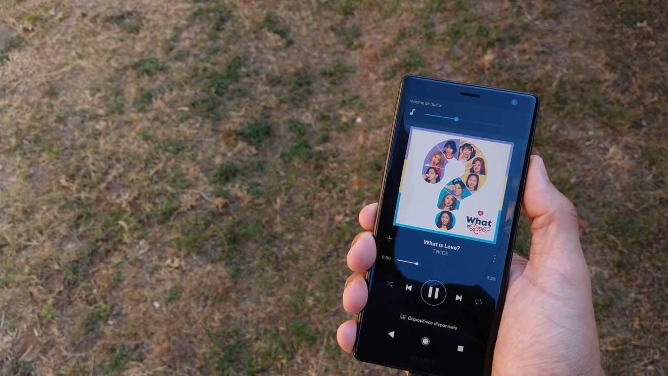 Xperia XZ2 - Áudio