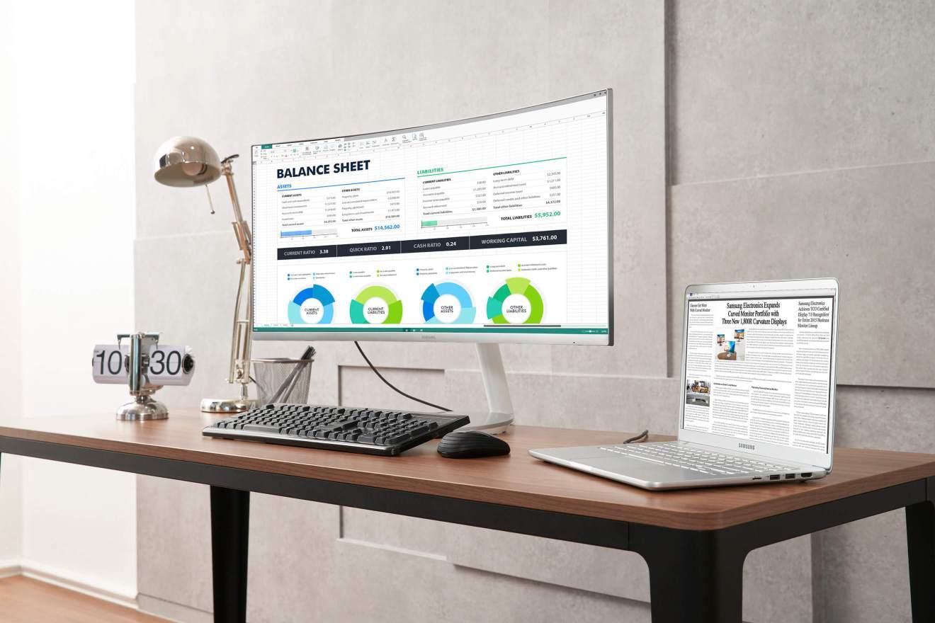 Samsung Thunderbolt™ 3 QLED Curved Monitor 2 - IFA 2018: confira tudo o que foi apresentando pela Samsung