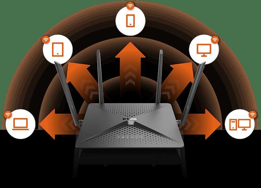 TRASEIRA 1 - Review: roteador D-Link AC2600 (DIR-882) entrega eficiência para jogos