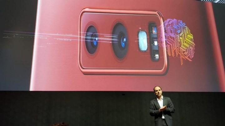 Câmera Inteligente do Galaxy Note 9