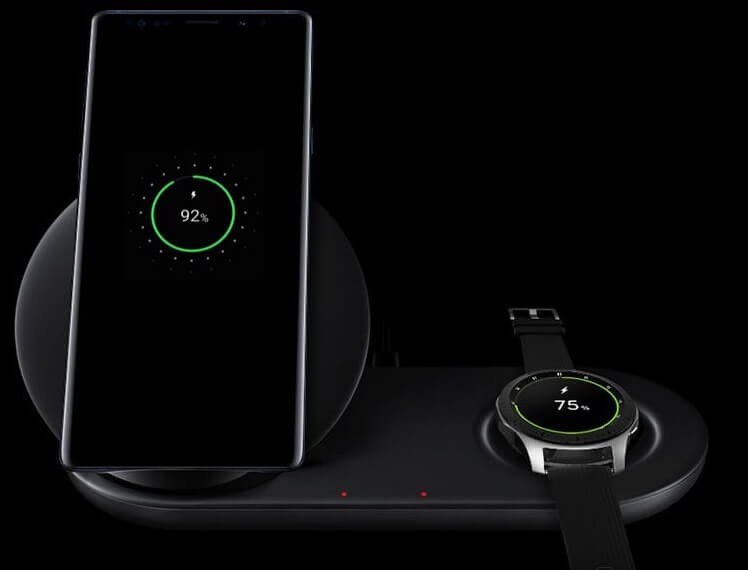 Charge Duo um dos acessórios para o Galaxy Note 9