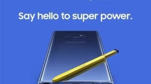 Vaza o vídeo de lançamento do Galaxy Note9