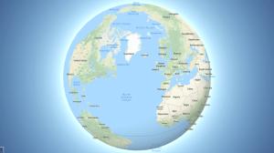 """Google Maps possui novo formato de """"Globo"""" para visualização 4"""