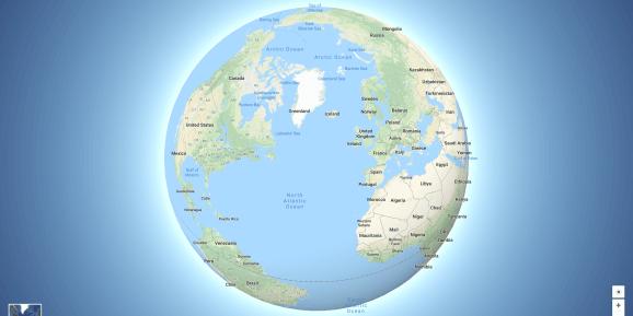 """Google Maps possui novo formato de """"Globo"""" para visualização 7"""