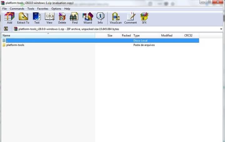 platform tools 720x455 - Tutorial: como usar barra de navegação do iphone X em qualquer Android