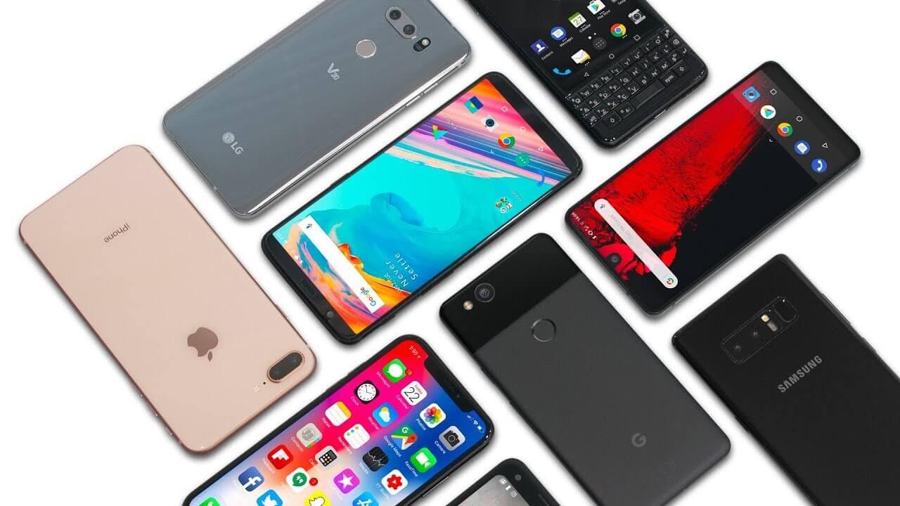 smartphones - Topo de Linha: comparando os melhores smartphones de 2018