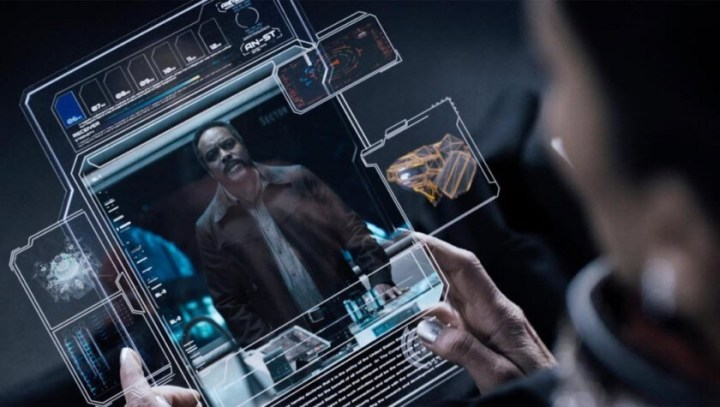 O Tablet do The Expanse é tão funcional quanto um Smartphone.