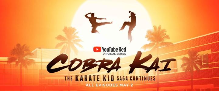 Cobra Kai, série exclusiva da plataforma