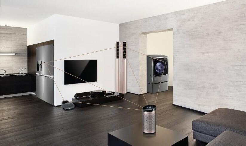 O ThinQ AI integra a TV a diversos assistentes virtuais disponíveis no mercado e permite comandar outros produtos da LG